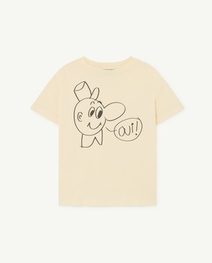 The Animals Observatory  ROOSTER KIDS T-SHIRT white
