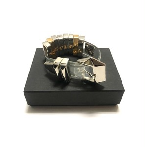 Bijou R.I - PVC Bar  Bracelet (Clear) -
