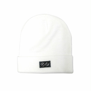 scar /////// BLOOD BEANIE (White)