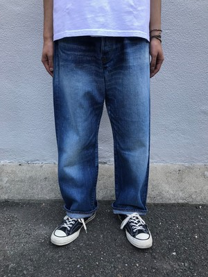 【ordinary fits】FARMERS 5P DENIM USED/OM-P108