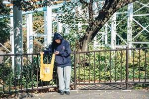 【TRUST RECORDS】Nylon Marche Bag