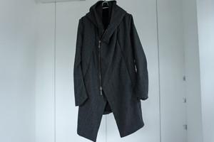 masnada / Zip hoodie coat / SMOKE GREY