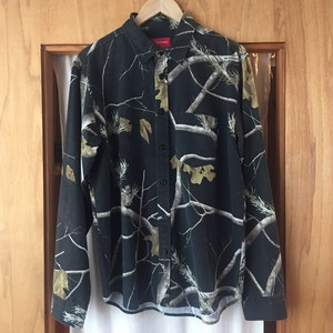 Supreme realtree camo flannel shirt