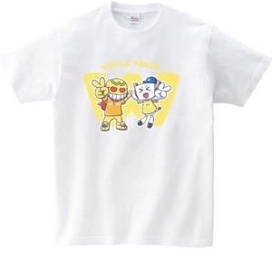 手繋ぎワールドピースTシャツ ②