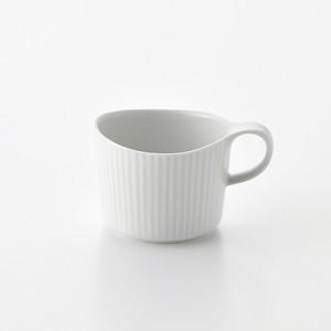 線彫 白マット マグカップ小