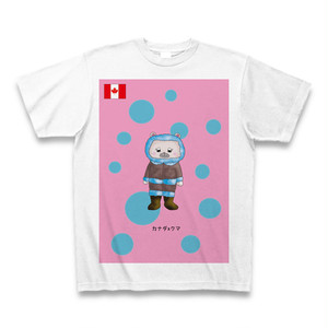 民族衣装Tシャツ カナダxクマ
