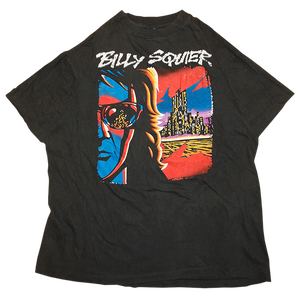 """Billy Squier / Creatures Tour 1991"" Vintage Tee Used"