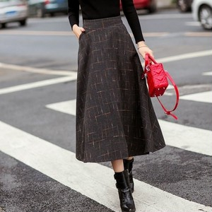 Check Pattern Skirt T576