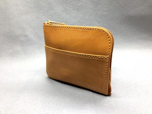 L-type mini wallet (bridle leather) Color: Camel