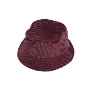 En Plein Air WIDE WALE CORDUROY BUCKET HAT(MAROON)