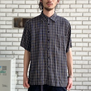 USED CHECK S/S SHIRTS