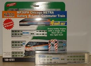 シカゴ・メトラ 5両セット