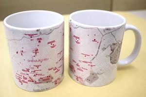 ジェイジー オリジナルデザイン『新宿マグカップ』