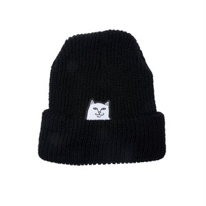 RIPNDIP - Lord Nermal Ribbed Beanie (Black)