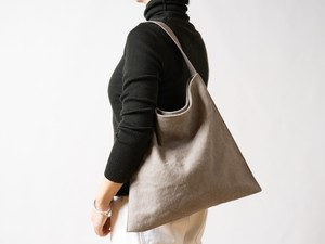 Holiday bag タンベージュ