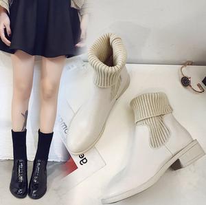 ソックスブーツ ハイカットブーツ 靴下シューズSHS221201