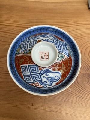 錦茶碗 蓋付き