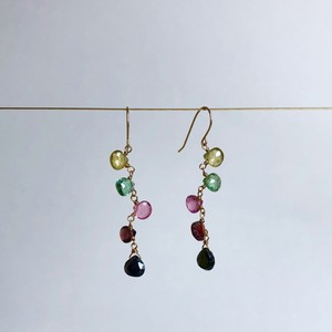 Multicolor Tourmaline Earrings