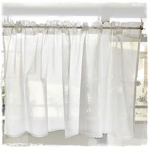 ♥綿ローン*ロッドポケットカーテン【ショート】W126×H60 ♥現品限りセール中!