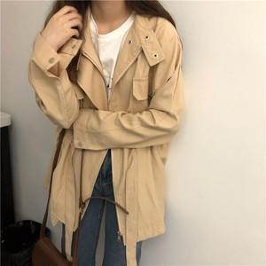 【outer】ファッション無地気質アップコート19515735