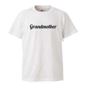★敬老の日に★Grandmother おばあちゃん Tシャツ-white-