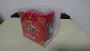 くまモン缶 CEYLON TEA(紅茶)/8包入 オーガニック 有機JAS認証 ハラール認証 フェアトレード認証