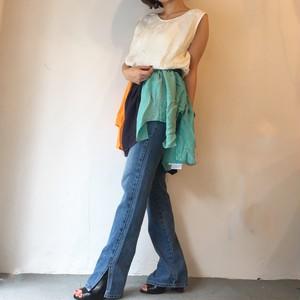 """CaNARi """"Multi Silk Mini Dress"""""""