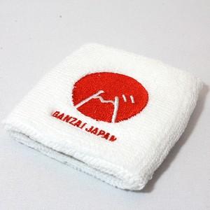 BANZAI JAPANオリジナルリストバンド(白)