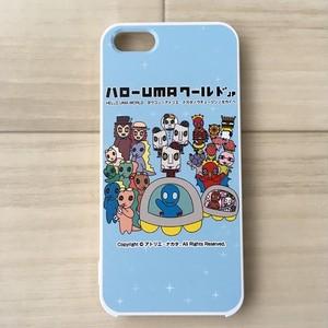 ハローUMAワールド(ハローUMAワールドjp):キャタクターズ iPhoneケース