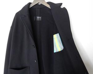 スウェット テーラードジャケット (black)