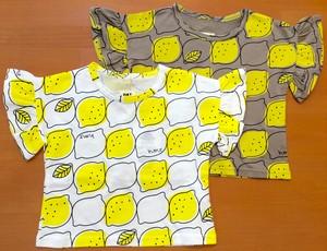 ●レモン柄フリルカットソー☆