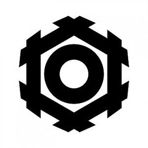 六角井筒に蛇の目(2) aiデータ