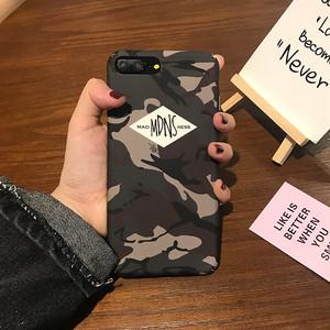 【小物】iPhone用カモフラスマホケース・カバー