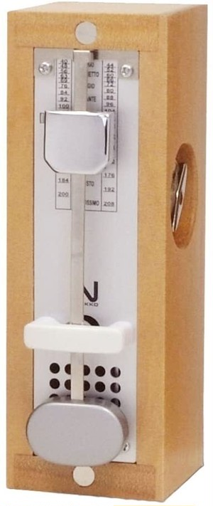 NIKKO metronome Wood Mini  ニッコー メトロノーム ウッド ミニ(ナチュラル)