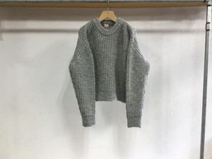 "MAISON EUREKA "" PLATING SWEATER "" GRAY"