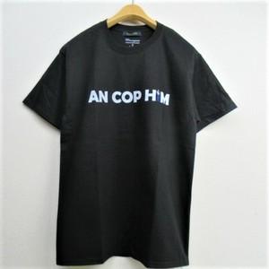 modemdesign  Championボディ アナグラムデザインプリントTシャツ   COL,BLACK