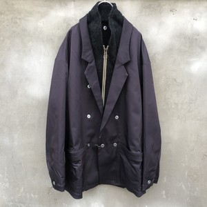"HOMELESS TAILOR  ""layered jacket blouson"""