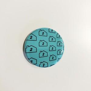 ロゴ缶バッジ(遠近)