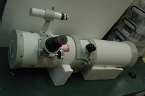 【中古品】 タカハシ MT-130、6X30ファインダー、鏡筒バンド  ※送料込み価格(沖縄・離島除く)