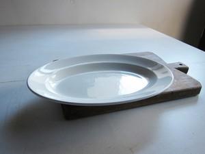 LUNEVILLE リュネヴィル オーバルプレート 32.2cm