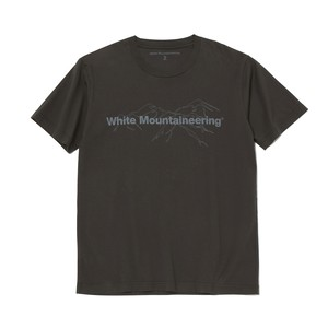 PRINTED T-SHIRT 'White Mountaineering' - CHARCOAL