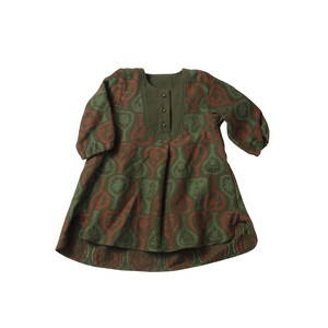 Heart  Blouse Long Baby - Flask Jaguard / Eatable Home