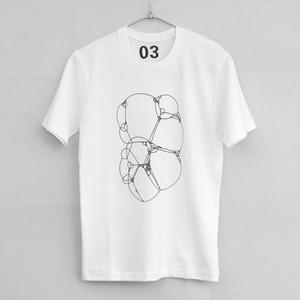 bubble / シルクプリントTシャツ・カットソー