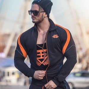 BODY ENGINEERS ANAX Performance JACKET – Black & Dutch Orange
