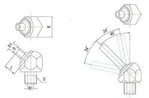 JTAN-3/8-20 高圧専用ノズル