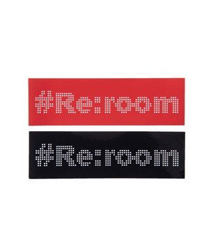 #Re:room DOT LOGO STICKER[REG086]