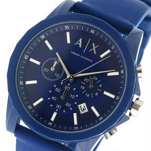 アルマーニエクスチェンジ ARMANI EXCHANGE クロノ クオーツ メンズ 腕時計 AX1327 ネイビー/ネイビー ネイビー