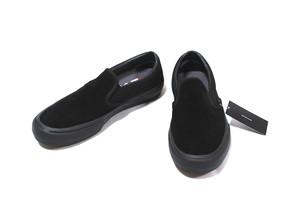 VANS SLIP-ON PRO BLACKOUT US12 黒  30.0㎝