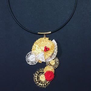 brand:ICHIHARU  『月鏡』(moon mirror)  【necklace】
