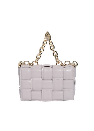 quilting leather chain bag(white)5/10ch-2